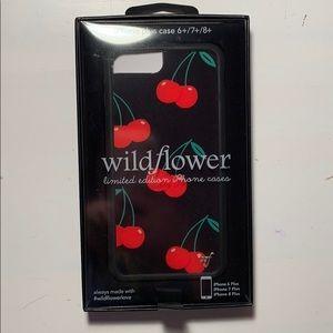 Cherry Pop Wildflower Case for iPhone 7 plus